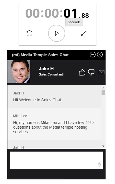 Media Temple Live Chat Support