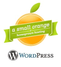 A Small Orange WordPress