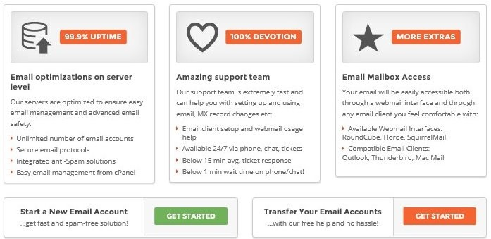 SiteGround Email Hosting
