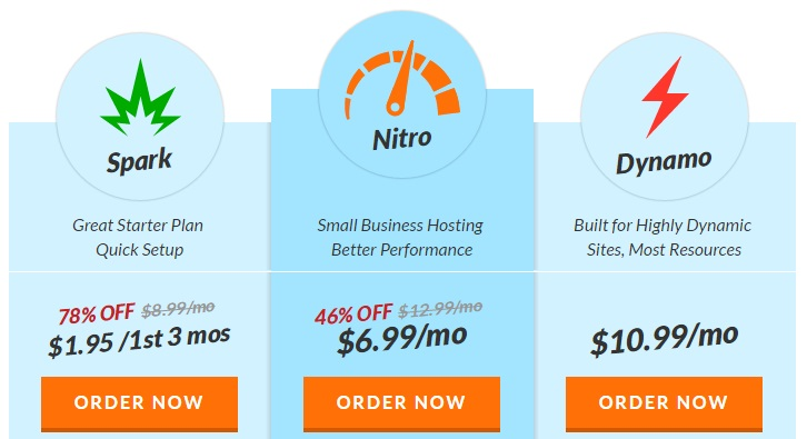 Web Hosting Hub Shared Hosting Plan