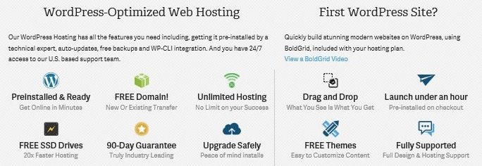 InMotion Hosting WordPress