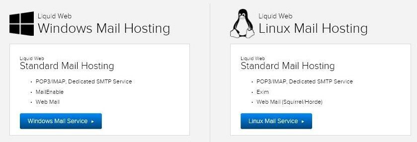 Liquid Web Email Hosting
