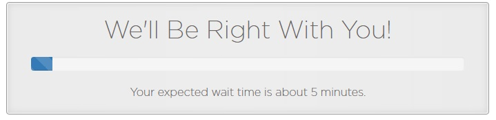 PowWeb Support Waiting Time