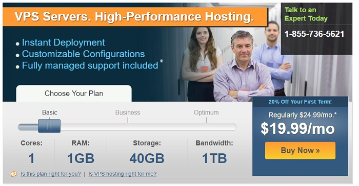 iPower VPS Hosting Plan