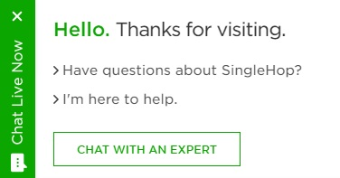 SingleHop Live Chat