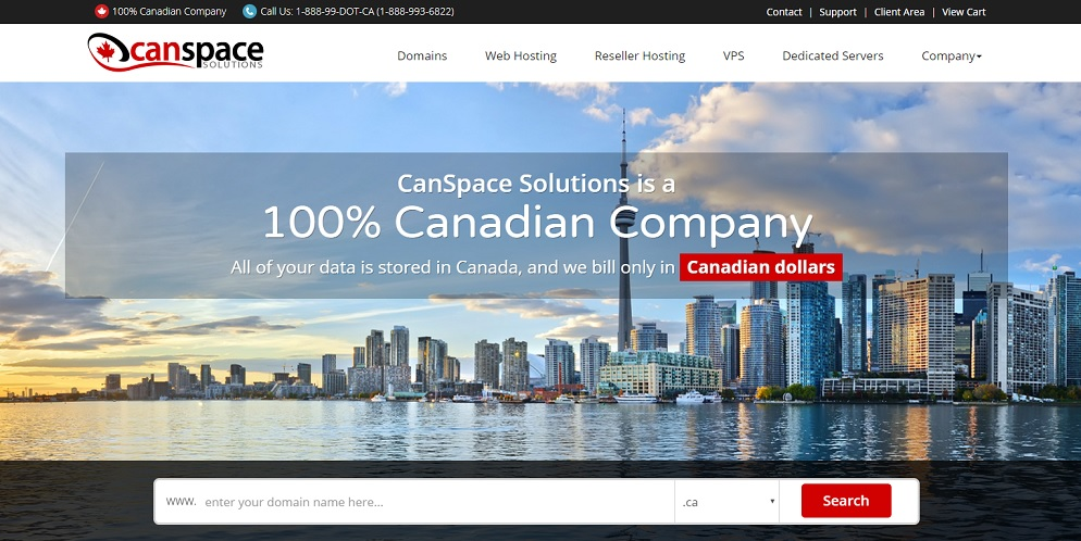 CanSpace Homepage