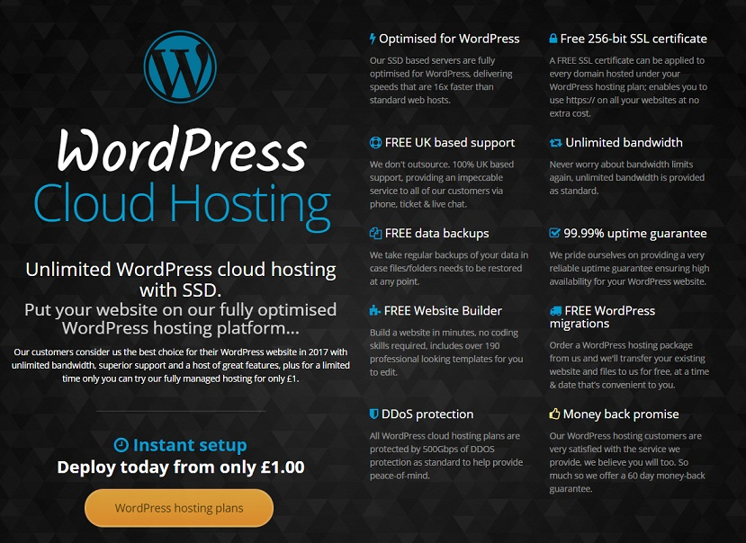 Krystal WordPress Hosting