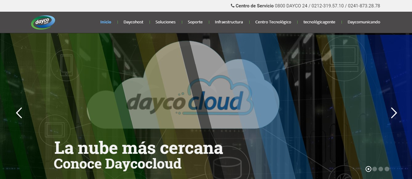 Daycohost-Homepage