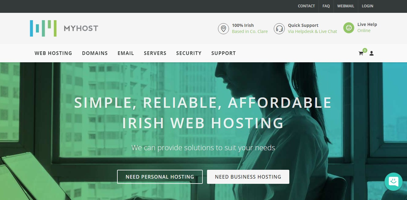 MYHOST-Homepage