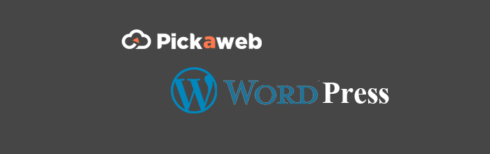 Pickaweb-wordpress