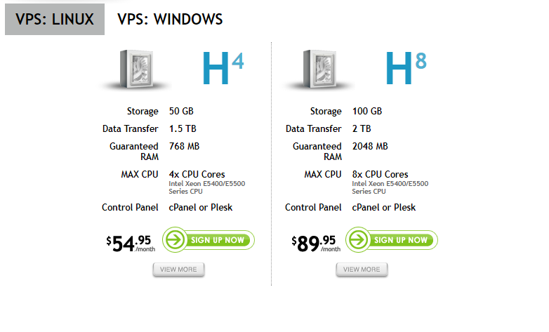 hostexcellence vps hosting plan