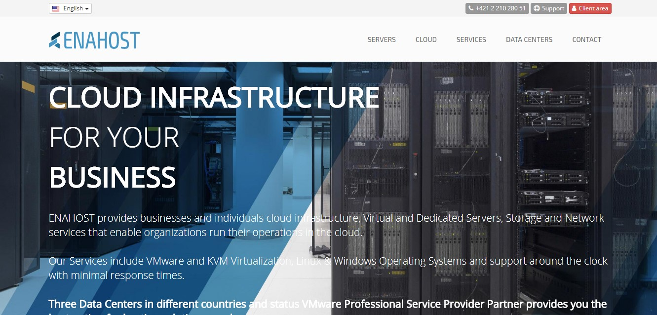 enahost-homepage