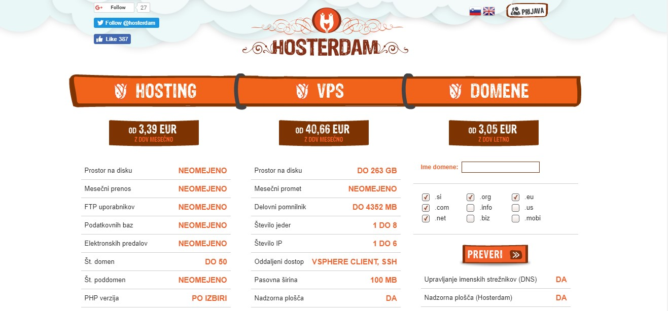 hosterdam-homepage