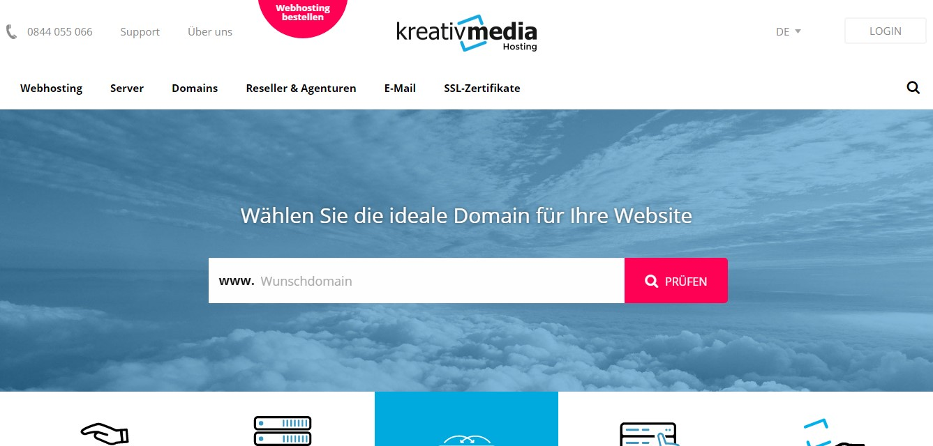 kreativmedia-homepage