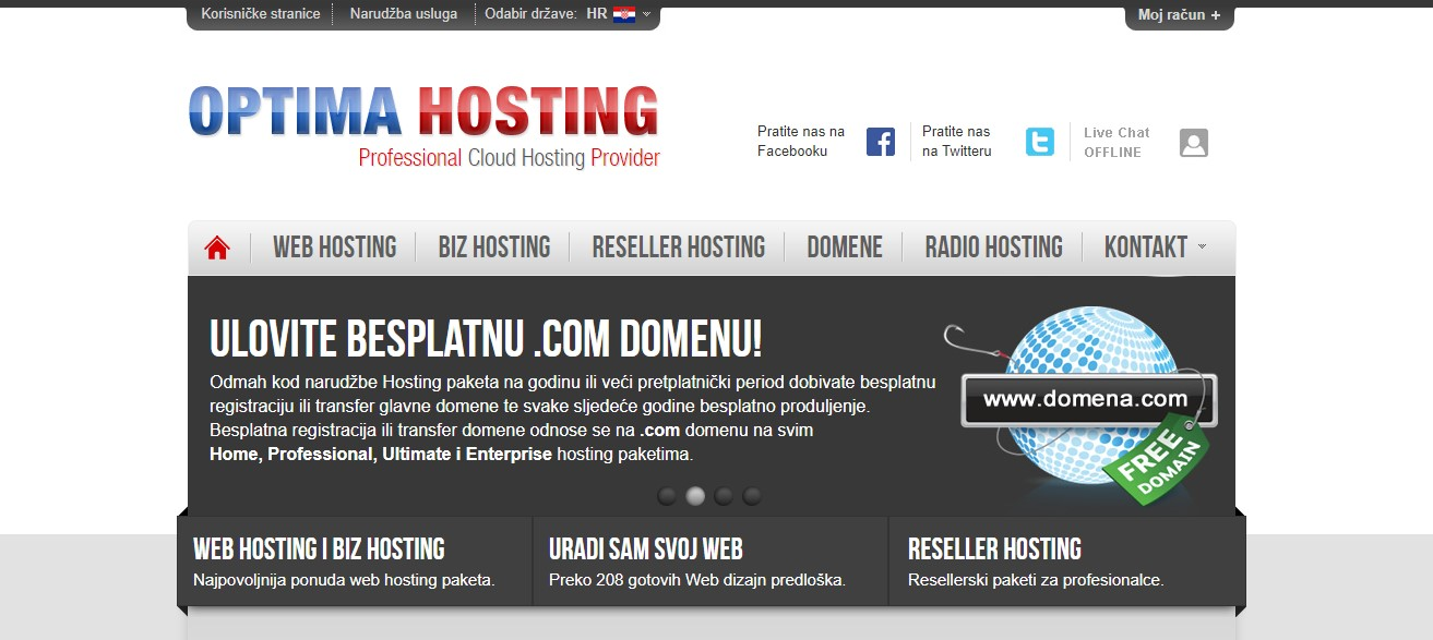 optimahosting-homepage