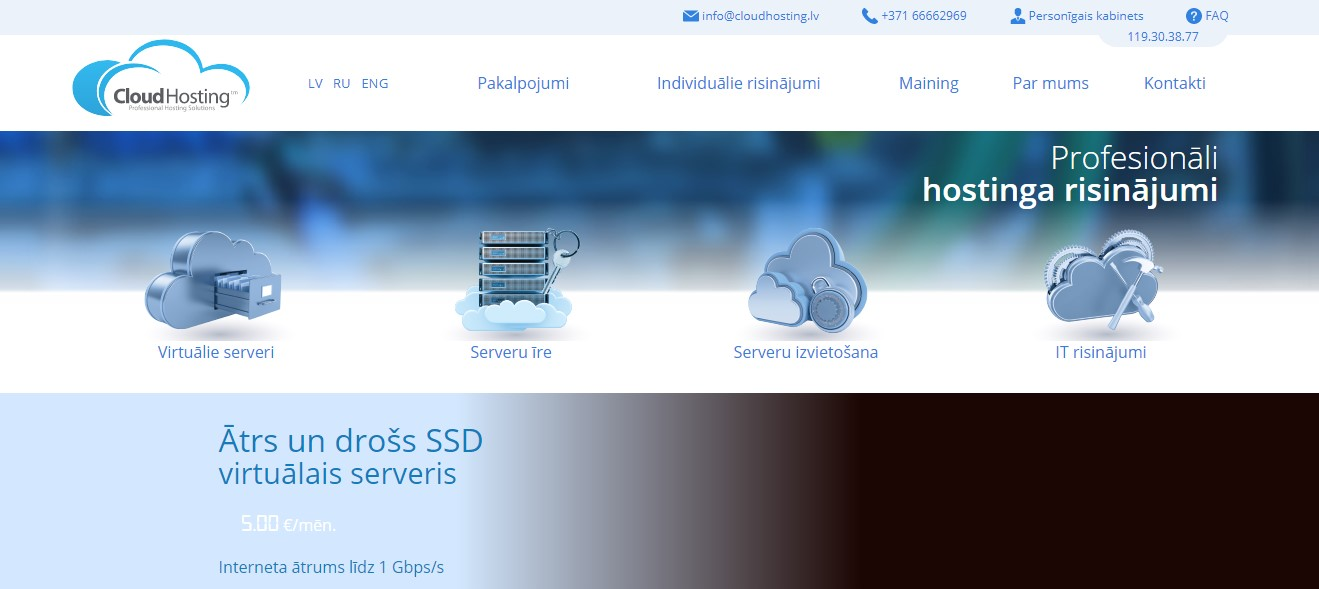 cloudhosting-homepage