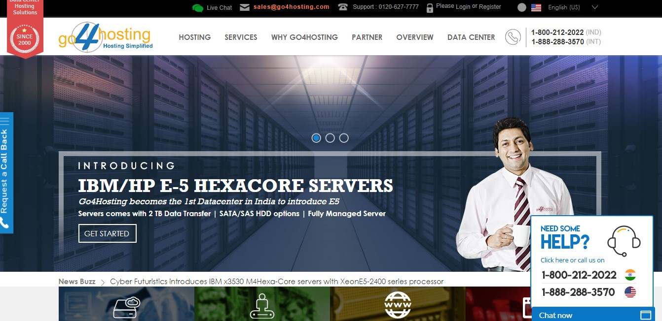 go4hosting-homepage