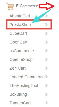 PrestaShop button