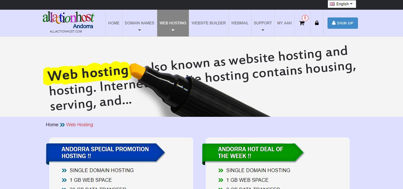 allactionhost-homepage