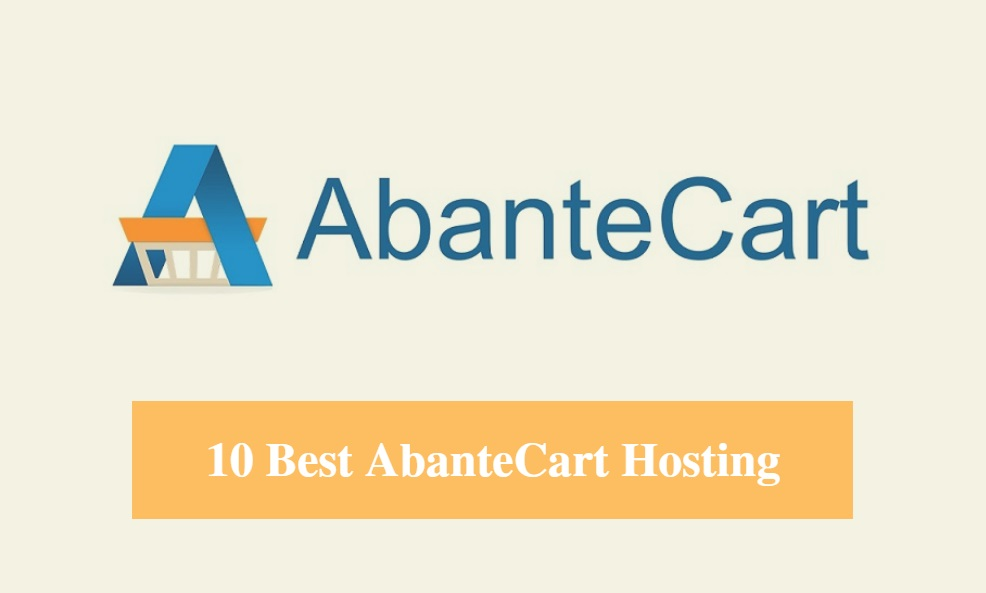 Best AbanteCart Hosting & Best Hosting for AbanteCart