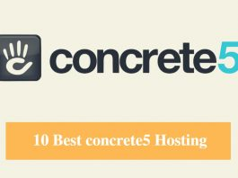 Best concrete5 Hosting & Best Hosting for concrete5