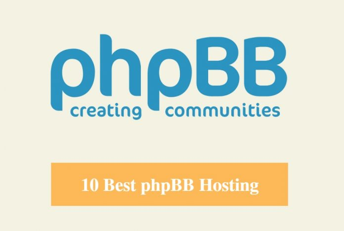 Best phpBB Hosting & Best Hosting for phpBB