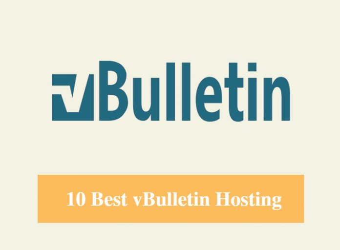 Best vBulletin Hosting & Best Hosting for vBulletin