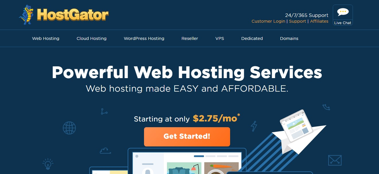 hostgator-homepage