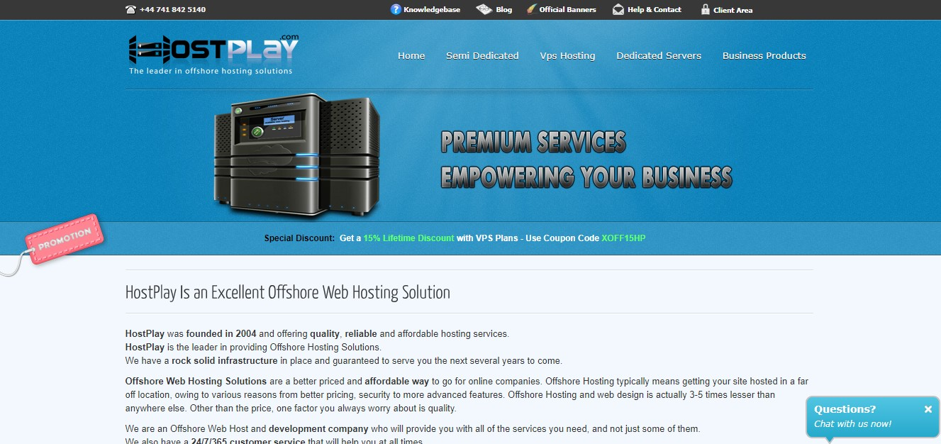 hostplay-homepage