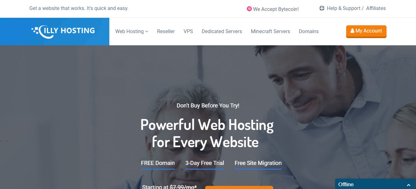 illyhosting-homepage