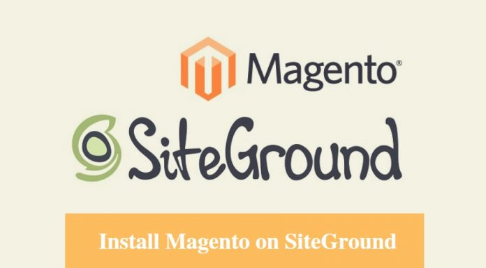 Install Magento on SiteGround