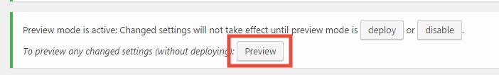 'Preview' button