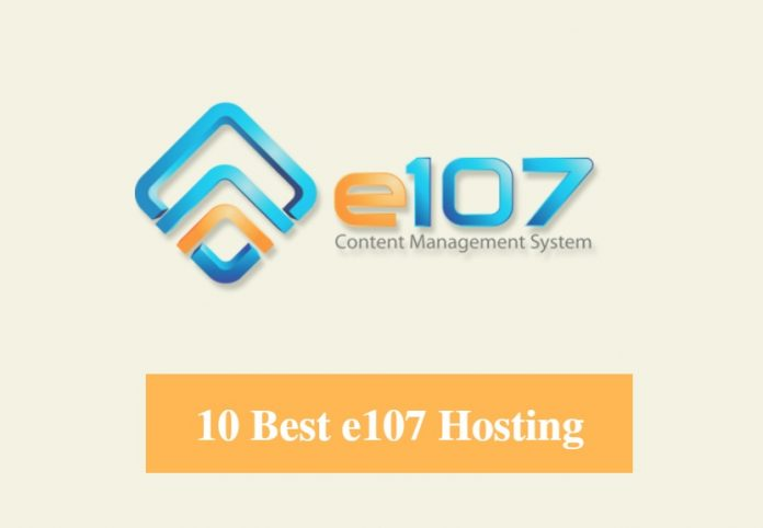 Best e107 Hosting & Best Hosting for e107