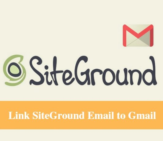 SiteGround Email with Gmail