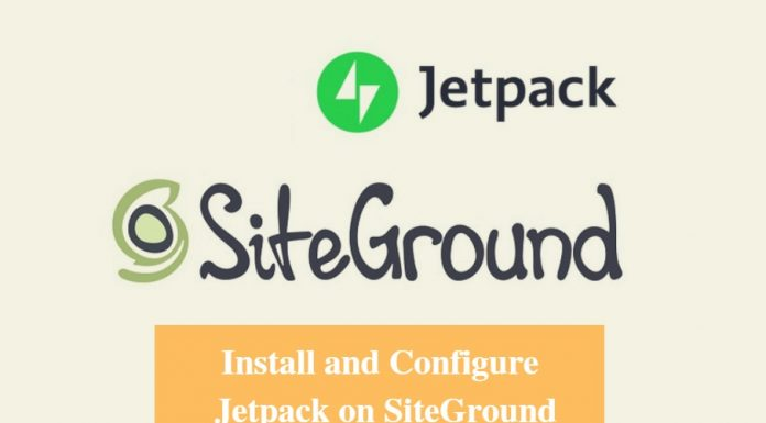 Install and Configure Jetpack on SiteGround