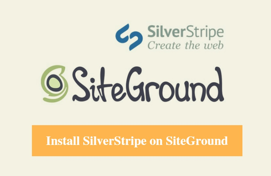 Install SilverStripe on SiteGround