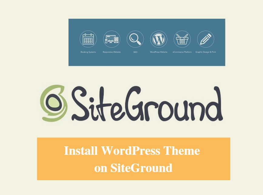 SiteGround Install WordPress Theme