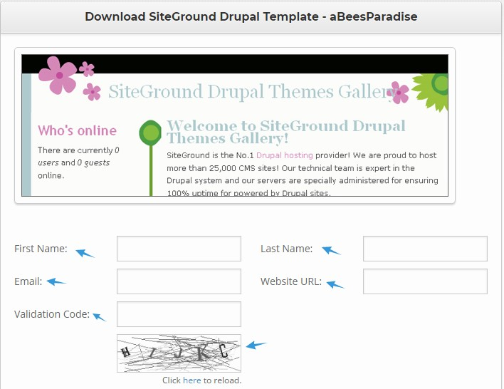 how to install drupal themes