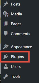 'Plugins' button