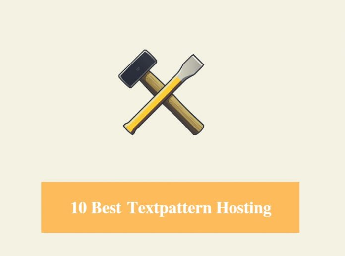 Best Textpattern Hosting & Best Hosting for Textpattern