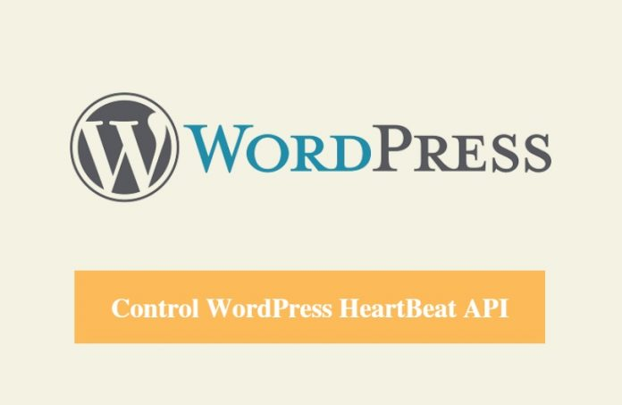 SiteGround Control WordPress Heartbeat API