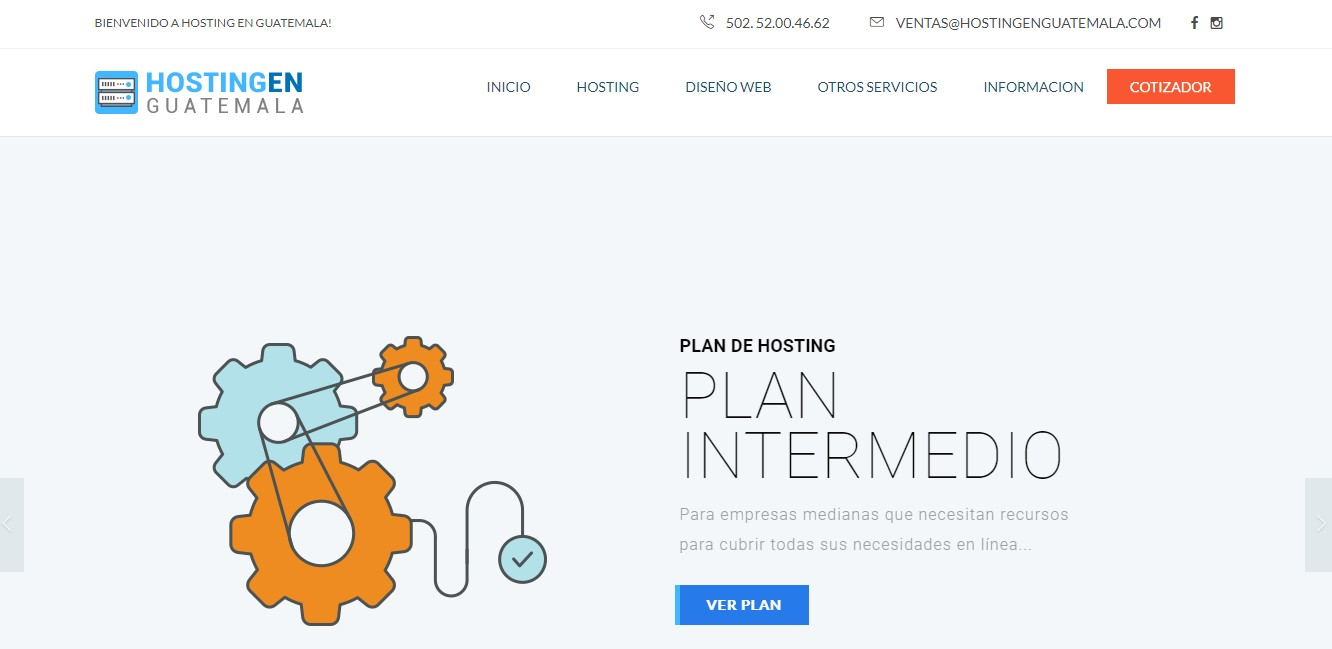 hostingenguatemala-homepage
