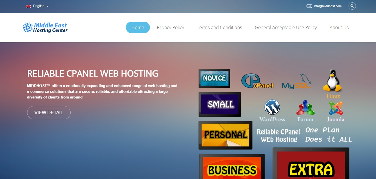 middhost-homepage