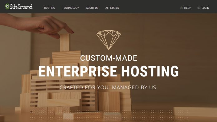 SiteGround Enterprise Hosting Review