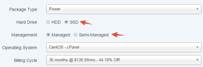 SSD and HDD option