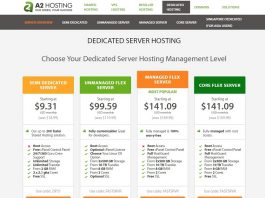 A2 Hosting Dedicated Server Review