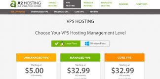 A2 Hosting VPS Review