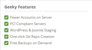 Geeky Advanced Features of SiteGround Shared Hosting Service