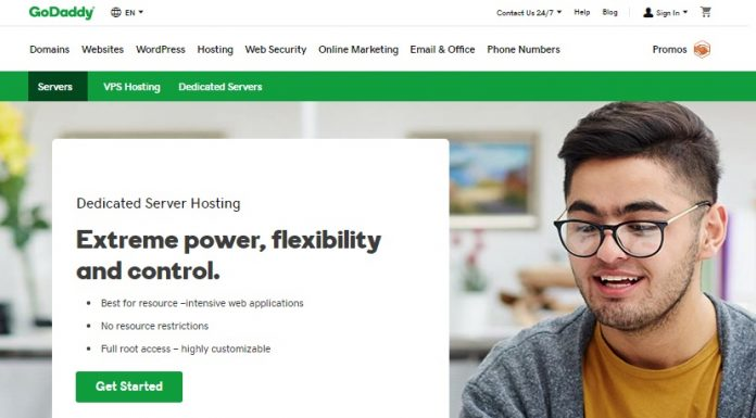 GoDaddy Dedicated Hosting Review