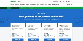 GoDaddy Shared Hosting Review